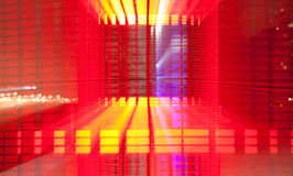 Abstract Technology Colorful background Stock Photo