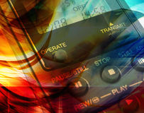 Abstract technology concept Royalty Free Stock Photos