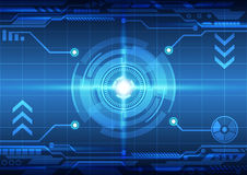 Abstract  technology concept background, vector illustration. Digital EPS10 Royalty Free Stock Photography