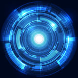Abstract technology concept background, vector illustration Royalty Free Stock Photography