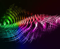 Abstract technology concept illustrated background. Royalty Free Stock Photos