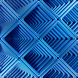 Abstract technology 3D background. Stock Photo