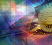 Abstract technology design Royalty Free Stock Photography