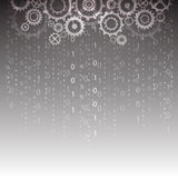 Abstract technology digital background, vector illustration. Innovation Royalty Free Stock Images