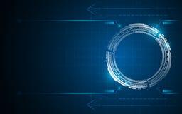 Abstract technology digital communication innovation concept design background. Eps 10 stock illustration