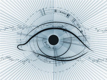 Abstract technology eye Stock Photography