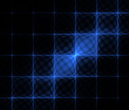 Abstract technology fractal background. 3d blue lattice. Abstract technology fractal background. Computer generated image of abstract blue 3d lattice on the Royalty Free Stock Image