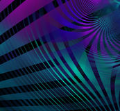 Abstract technology fractal blue purple background Stock Image