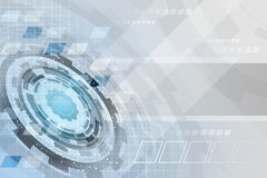 Abstract technology futuristic  business background with gear wheel and grid. Stock Photos