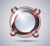 Abstract technology glass banner Royalty Free Stock Photo