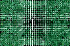 Abstract technology green background royalty free stock images