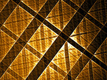 Abstract technology grid digitally generated image Stock Photo