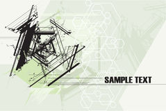 Abstract Technology Grunge Background. Vector Royalty Free Stock Photo