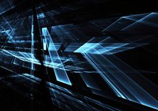 Abstract technology illustration, background, Royalty Free Stock Photos