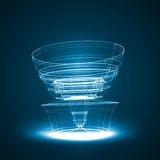 Abstract technology illustration Royalty Free Stock Images