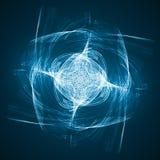 Abstract technology illustration. Stylish concept Stock Photos