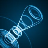 Abstract technology illustration Stock Photography