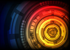 Abstract technology and innovation background Royalty Free Stock Photos