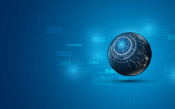 Abstract technology internet network telecommunication innovation concept design background Stock Image