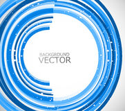 Abstract technology lines blue circle  Stock Photo