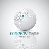 Abstract technology logo Stock Photo