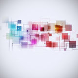 Abstract Technology Multicolor Background Royalty Free Stock Image