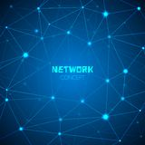 Abstract technology network concept Royalty Free Stock Photo
