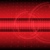 Abstract technology on red background vector illustration. Rgb mode vector illustration