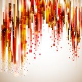 Abstract technology red rain backdrop Royalty Free Stock Images