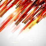 Abstract technology red top oriented lines illustration Royalty Free Stock Images