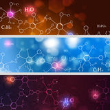 Abstract Technology and Science Banners Stock Photos