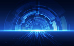 Abstract technology speed concept. vector background Royalty Free Stock Images