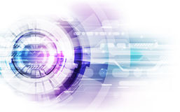 Abstract technology speed concept. vector illustration background Royalty Free Stock Images