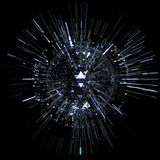 Abstract technology sphere. Stock Images