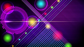 Abstract technology-style background. Royalty Free Stock Photos