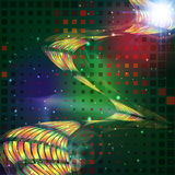 Abstract   technology-style background. Royalty Free Stock Photo