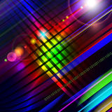 Abstract technology-style colorful background. Stock Photography