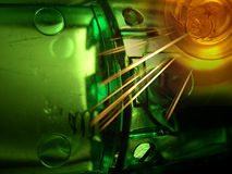 Abstract with technology theme Royalty Free Stock Photos