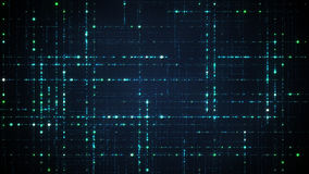 Abstract techology data grid Royalty Free Stock Photo