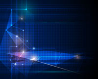 Abstract tecnology background. Abstract Technology background with cyberspace Stock Photo