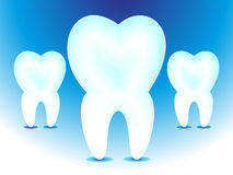 Abstract teeth icon Royalty Free Stock Images