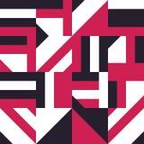 Abstract tegel naadloos patroon Ceramische mozaïek vectorillustratie stock illustratie