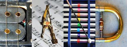 Abstract Teken voor de Band Royalty-vrije Stock Foto