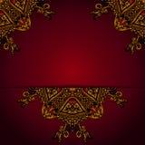 Abstract tekstkader Royalty-vrije Stock Afbeelding