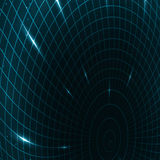 Abstract teleportation futuristic illustration. Creative dynamic element Stock Photography