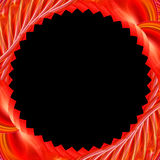 Abstract template. On a black background royalty free illustration