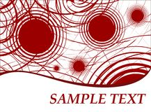 Abstract template 2. Abstract background template vector illustration Royalty Free Stock Image