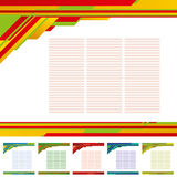 Abstract template background Stock Images