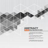 Abstract template background with triangle shapes Stock Photo