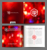 Abstract template booklet design Royalty Free Stock Image